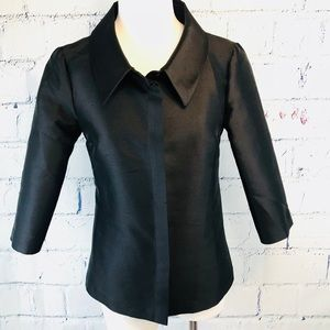 Michael Kors Made in Italy Silk/wool Tunic Blouse